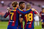 برشلونة يكتفي بهدف في فوزه على إلتشي بكأس خوان جامبر
