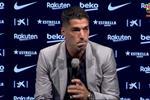 فيديو | سواريز باكيًا: رحيلي عن برشلونة صعب.. وفخور بصداقتي مع ميسي رغم التحذيرات