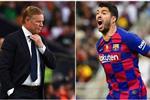 كومان يرد على انتقادات ميسي لـ برشلونة بسبب رحيل سواريز