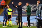 جوارديولا يكشف ما قاله للاعبي مانشستر سيتي بين شوطي مباراة بورتو