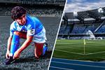 رسميًا.. عمدة نابولي يعلن تغيير اسم ملعب الفريق إلى مارادونا