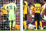 أوزيل يساند راؤول خيمينيز بعد إصابته الخطيرة أمام آرسنال