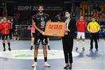 وليد قداح رجل مباراة مصر ومقدونيا في كأس العالم لليد