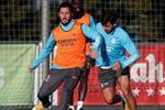 ثنائي ريال مدريد يورط زيدان قبل مباراة ألكويانو في كأس ملك إسبانيا