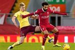 ردود أفعال جماهير ليفربول على أداء محمد صلاح بعد الخسارة أمام بيرنلي