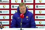 كومان غاضبًا رغم الفوز على كورنيلا: لا يُمكن لـ برشلونة إهدار ركلتي جزاءَ!