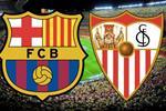 موعد والقنوات الناقلة لمباراة برشلونة وإشبيلية اليوم في الدوري الإسباني