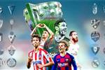 ترتيب الدوري الإسباني بعد نهاية الجولة 25 وفوز برشلونة وتعثر ريال مدريد