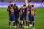 ديمبلي ونجم برشلونة يعودان للتدريبات قبل مباراة أوساسونا في الدوري الإسباني