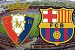 موعد والقنوات الناقلة لمباراة برشلونة وأوساسونا اليوم في الدوري الإسباني
