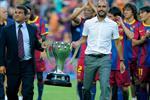 جوارديولا يعلق على فوز لابورتا برئاسة برشلونة
