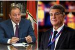 الأهلي يهنئ لابورتا بعد فوزه برئاسة برشلونة