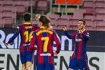 فيديو | نيران صديقة.. تشاكلا يمنح برشلونة الهدف الثاني أمام خيتافي