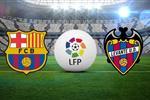 تعرف على معلق مباراة برشلونة وليفانتي اليوم في الدوري الإسباني