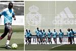 ميندي ومارسيلو يشاركان في تدريبات ريال مدريد قبل مواجهة أتلتيك بلباو