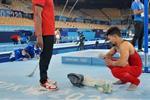 عمر العربي يحصد المركز الـ 14 في الجمباز الفني ويقترب من وداع أولمبياد طوكيو