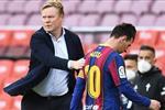 كومان قلق من إمكانية عدم لعب ميسي حتى عام 2022