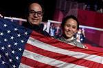 المصري أمجد عبد الحليم يصنع المجد ويقود الأمريكية لي كييفر لميدالية ذهبية في أولمبياد طوكيو