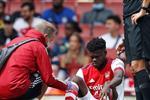 توماس بارتي يتعرض لإصابة ويغادر مباراة آرسنال وتشيلسي
