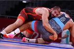 ضياء جودة يخسر فرصة التتويج بالميدالية البرونزية في المصارعة بأولمبياد طوكيو