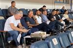 صورة | كيروش وجهاز منتخب مصر يتابعون مباراة بيراميدز وسموحة