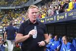 كومان يتلقى أخبارًا سارة قبل مباراة برشلونة وبنفيكا في دوري أبطال أوروبا