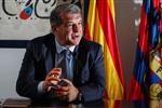 لابورتا يوضح موقف برشلونة من بقاء ديمبيلي وفاتي وسيرجي روبيرتو