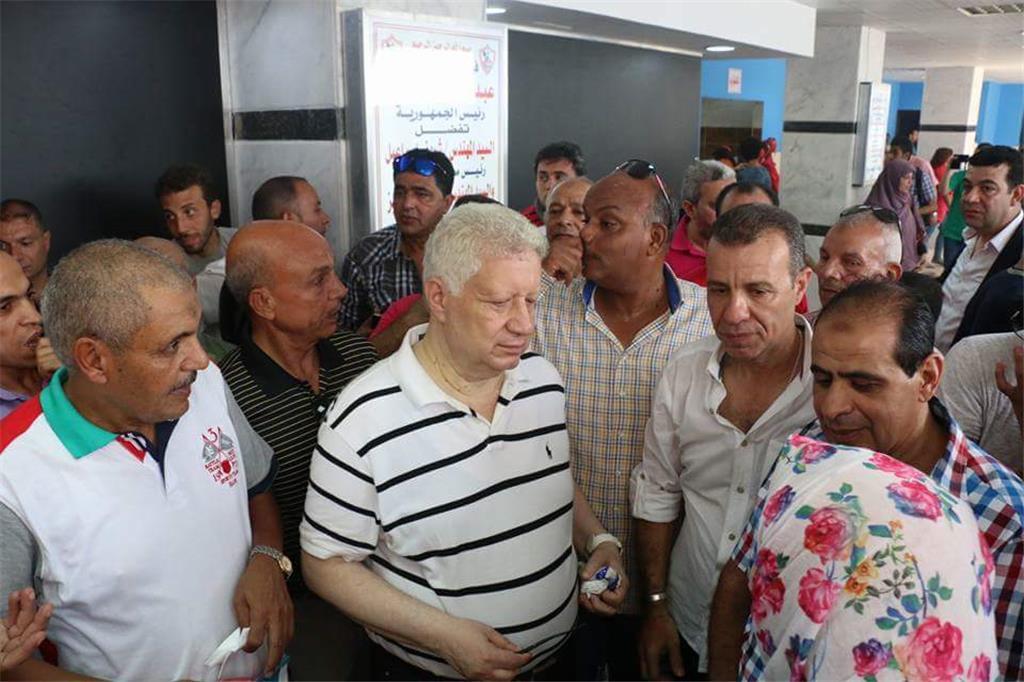 جمعية عمومية للزمالك ومرتضي منصور يفتتح صالة جيم بالنادي
