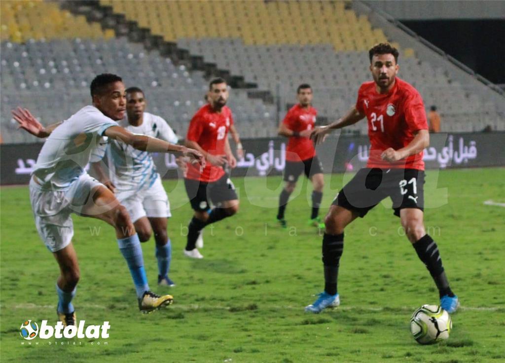 صور مباراة مصر وبتسوانا الودية
