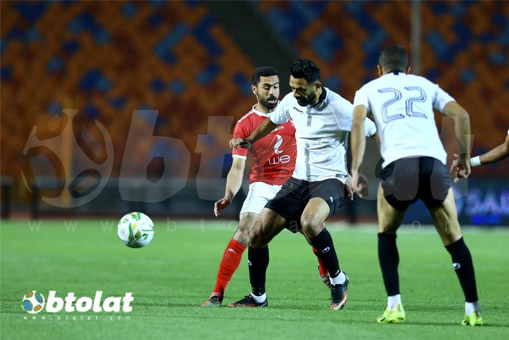 صور مباراة الاهلي وحرس الحدود في الدوري المصري