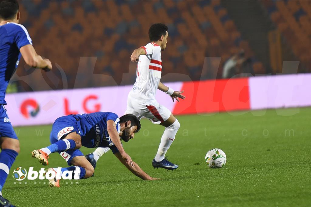 صور مباراة الزمالك وسموحة في الدوري المصري
