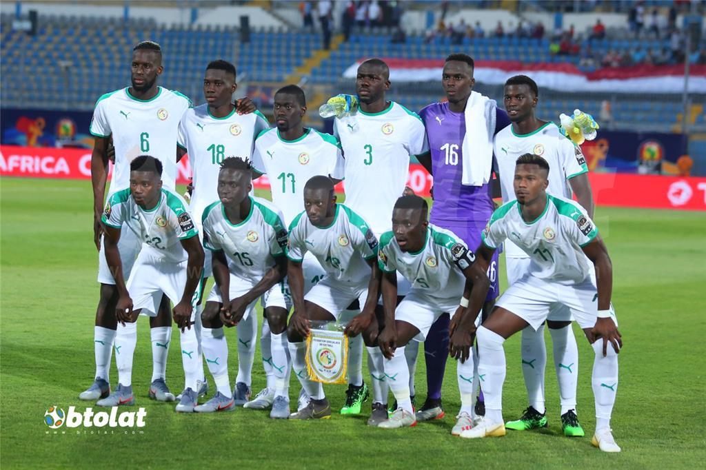 لاعبي منتخب السنغال