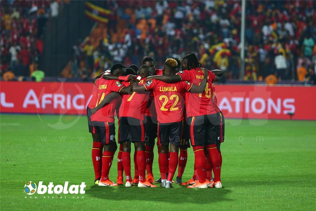 لاعبي اوغندا