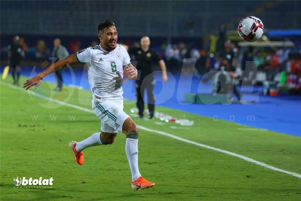 جانب من مباراة الجزائر وكينيا