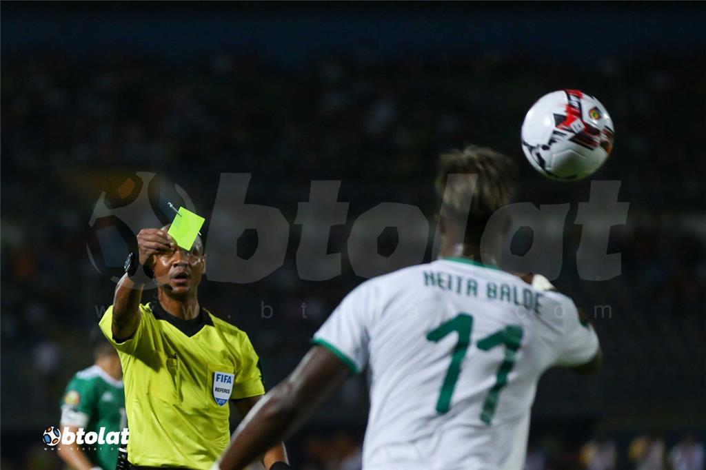 جانب من مباراة الجزائر والسنغال