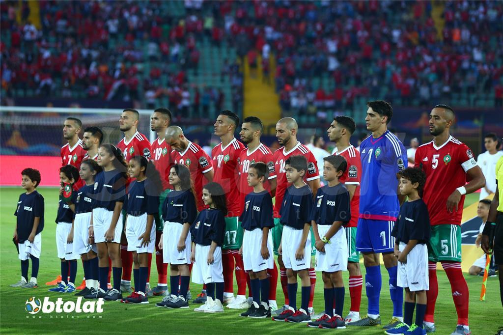 لاعبي المغرب