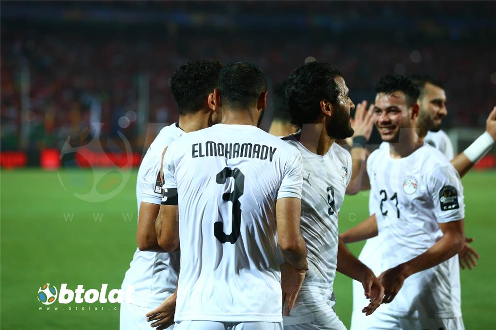 صور مباراة مصر واوغندا في كأس امم افريقيا 2019 بطولات