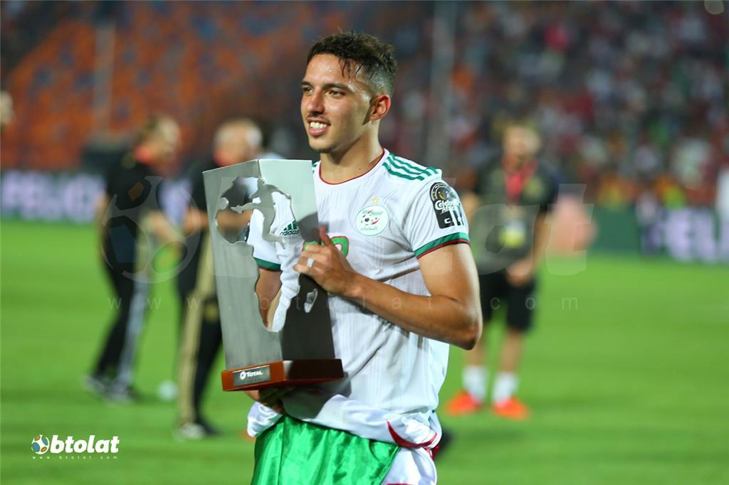 تتويج الجزائر بكأس امم افريقيا