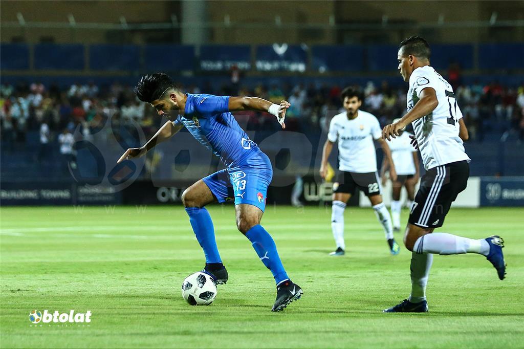 صور مباراة الزمالك والجونة في الدوري المصري