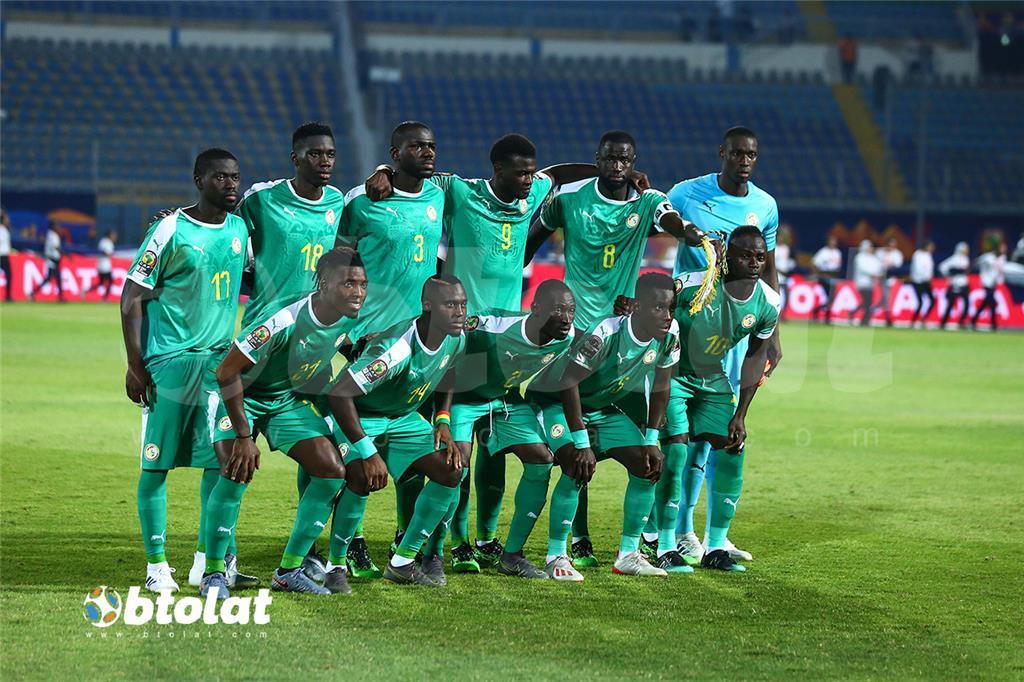 لاعبي السنغال