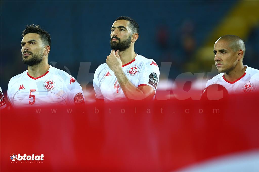لاعبي تونس قبل المباراة