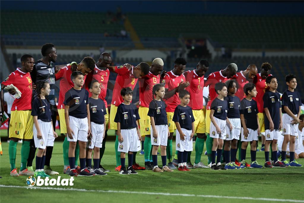 لاعبي منتخب غينيا