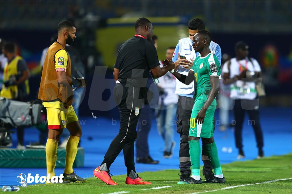 جانب من مباراة السنغال وبنين