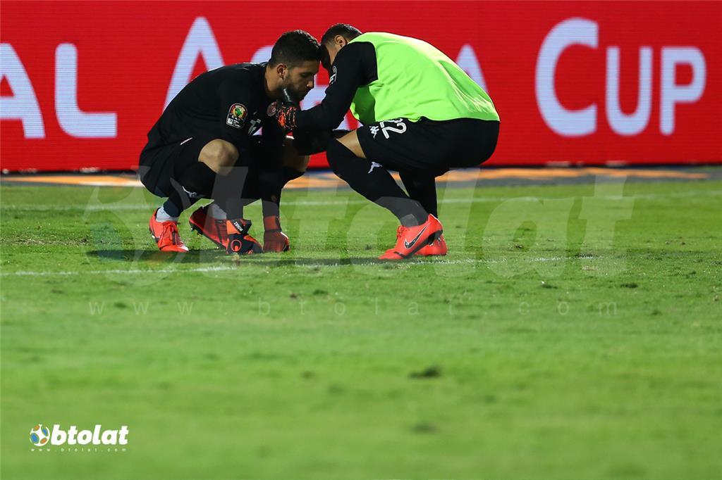 حسرة معز حسن بعد خسارة تونس امام السنغال
