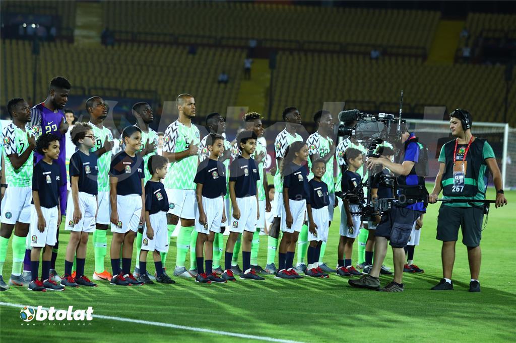 لاعبي نيجيريا