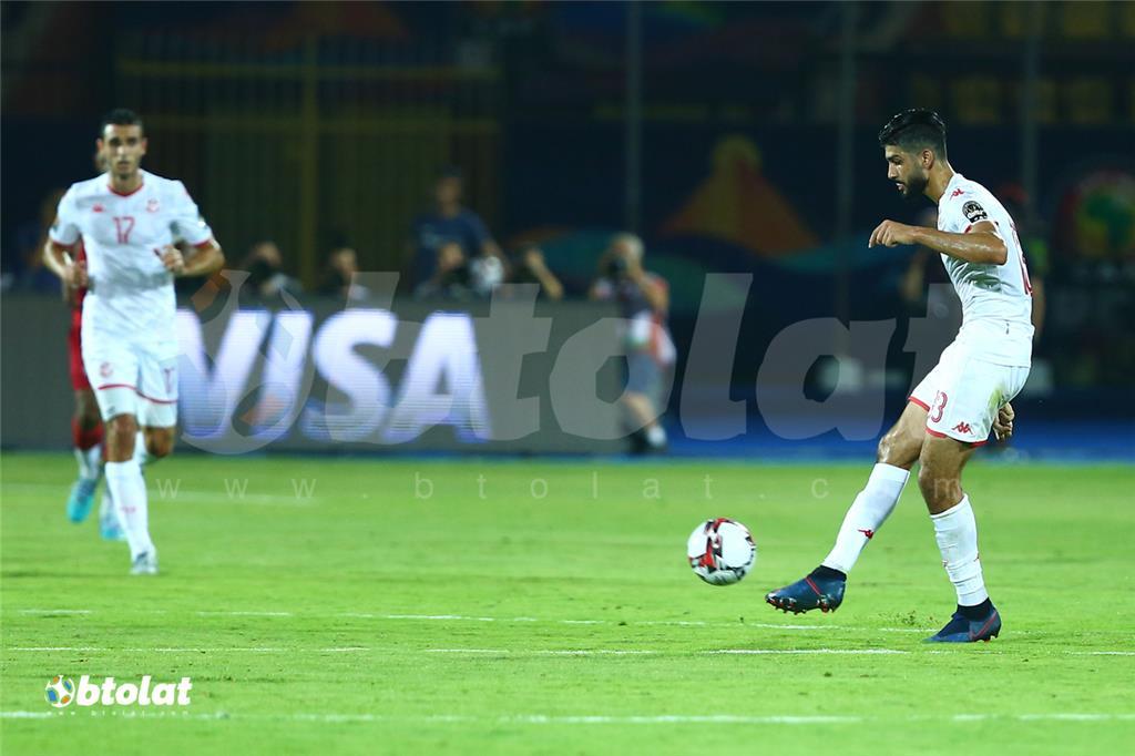 جانب من مباراة تونس ومدغشقر