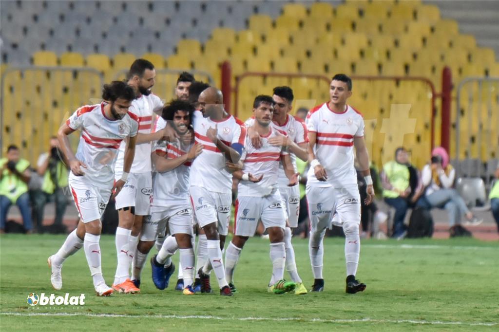 صور مباراة الزمالك ومصر المقاصة في كأس مصر
