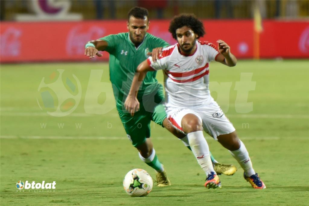 صور مباراة الزمالك والاتحاد السكندري في كأس مصر