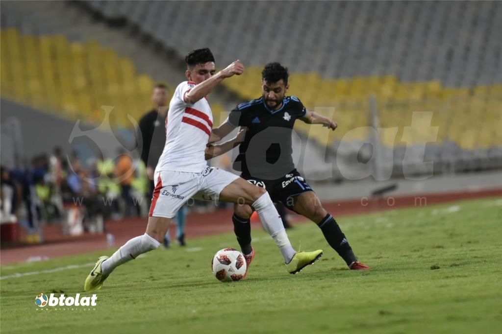 صور مباراة الزمالك وبيراميدز في نهائي كأس مصر