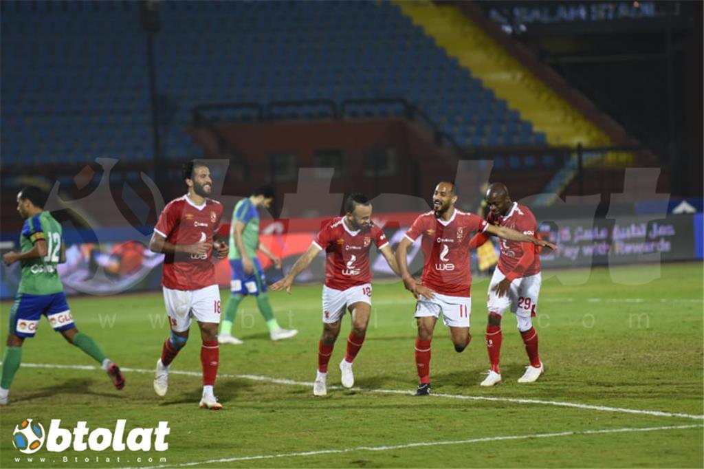 مباراة الاهلي ومصر المقاصة